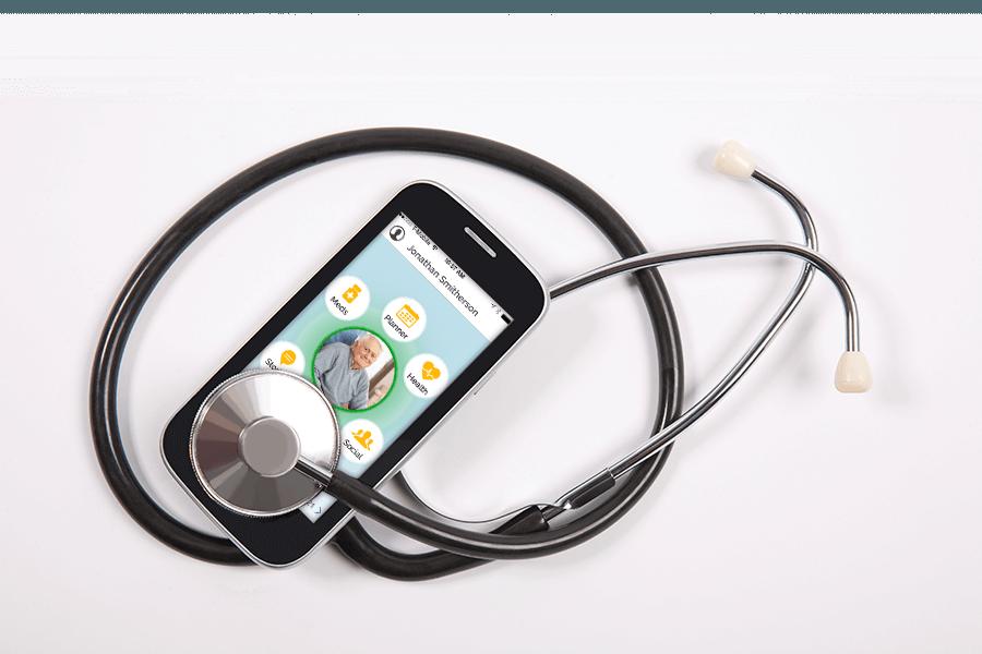 smart phone with independa app