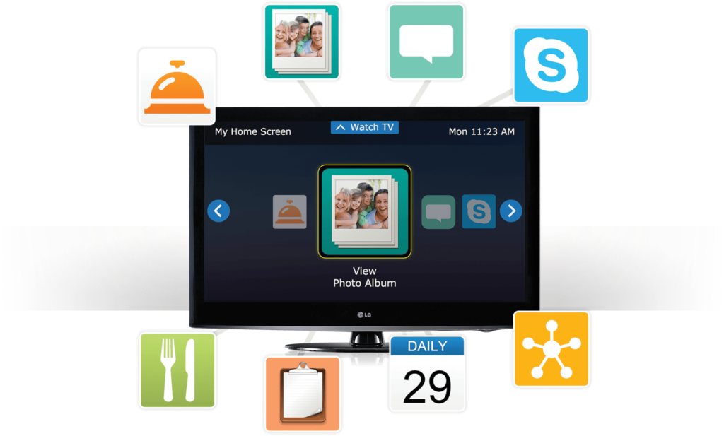 independatv offers many different apps to assist seniors